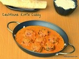 Cauliflower kofta curry | No Onion No Garlic recipe