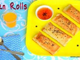 Corn rolls ( with home made cream style corn )