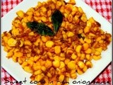 Sweet Corn in Onion Sauce