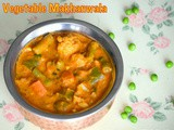 Vegetable makhanwala / restaurent style gravy for roti