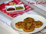 Yam cutlet / suran cutlet | No Onion No Garlic Recipe