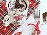 5-Minutes Chocolate Mug Cake-Microwave Chocolate Cake (with eggless,steamed option)