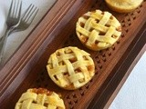 Apple Pie Recipe-Easy Eggless Mini Apple Pie-Pie Dough Recipe