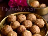 Atta Ladoo with Jaggery-Wheat Flour Laddu Recipe-Easy Laddu Recipes