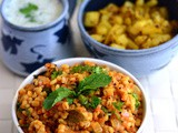 Barley Tomato Pilaf Recipe-Tomato Peas Barley-Easy Barley Recipes
