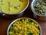 Beans Paruppu Usili Recipe-Paruppu Usili Curry-Tamil Brahmin Recipes