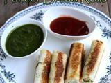 Bread Paneer Rolls Recipe-How to make Bread Paneer Rolls