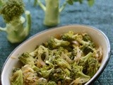 Broccoli Stir Fry Recipe-(Vegetarian)
