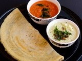 Brown Rice Dosa Recipe-Brown Rice Dosa Batter Recipe-Healthy Indian Breakfast-Dinner Recipes