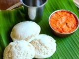 Brown Rice Idli-Soft Brown Rice Idly Recipe-Healthy Dinner-Breakfast Recipes