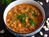Butter Beans Kurma-Easy Butter Beans Masala Recipe