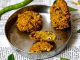 Cabbage Paruppu Vadai-Crispy Channa Dal Vadai with Cabbage-No Onion No Garlic Vada Recipe