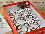 Chocolate Crinkle Cookies-Easy Christmas Cookie Recipes