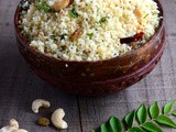 Coconut Couscous with Raisins-Indian Recipes with Couscous