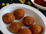Corn Cheese Balls Recipe-Easy Snacks Recipes