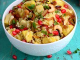 Couscous with Fruits and Nuts-Easy Fruity Couscous Recipe