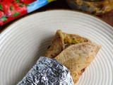 Egg Kathi Rolls-Egg Frankie-Vegetable Egg Wraps Recipe