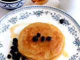 Eggless Whole Wheat Pancake-Easy Eggless Pancake Recipe