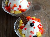 Fruit Salad with Ice Cream-Mixed Fruit Salad Recipe
