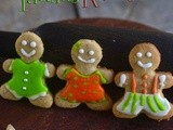 Gingerbread Cookies-Easy Gingerbread Men Cookies Recipe-Christmas Special