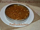 Godhumai Halwa-Wheat Halwa Recipe-Diwali Recipes