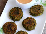 Hara Bhara Kebab-Spinach Green Peas Cutlet Recipe