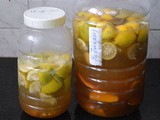 Homemade Fruit Enzyme Cleaner-How to make Eco Friendly-Natural-Chemical Free Citrus Cleaner