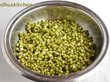 How to Sprout Mung Beans (Green Gram) at Home
