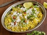 Kande Pohe-Poha-Aval Recipes-Quick Breakfast Recipe