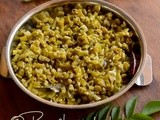 Karamani Poriyal-Long Beans Curry Recipe-Long Beans Stir Fry (Indian)
