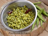 Kothavarangai Poriyal-Cluster Beans Curry (South Indian Recipe)