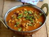 Lobia Masala-Lobia Curry Recipe-Indian Black Eyed Bean Curry