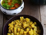 Mathanga Thoran-Yellow Pumpkin Stir Fry Kerala Style Recipe