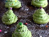 Meringue Cookies-Christmas Meringue Cookies Recipe