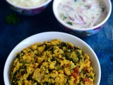 Methi Khichdi Recipe-Fenugreek Leaves Khichdi