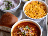 Misal Pav Recipe-How to make Misal Pav