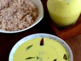 Moru Curry-Moru Kachiyathu-Seasoned Buttermilk Recipe Kerala Style