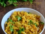 Mullangi Poriyal-Radish Curry-Mooli Sabzi Recipe-Mooli Recipes