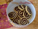 Pinwheel Cookies-Chocolate Pinwheel Cookies-Christmas Recipes