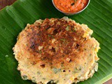 Pumpkin Adai Recipe-Parangikai Adai-Yellow Pumpkin Adai