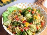 Quinoa Vegetable Salad-Vegan Quinoa Salad Recipe-Easy Quinoa Recipes