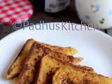 Simple French Toast Recipe-How to make French Toast