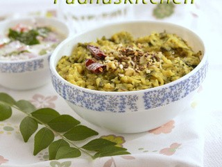 Spinach Khichdi-Palak Khichdi Recipe-Khichdi Recipes