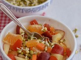 Sprouted Moong Salad-Mung Bean Sprouts Recipes(Indian)