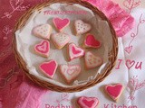 Sugar Cookies-Sugar Cookie Recipe-Valentine's Sugar Cookies
