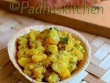 Sweet Potato Curry Recipe-Sakkarai Valli Kizhangu Poriyal