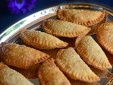 Sweet Somas Recipe-Karchikai-Karanji-Diwali Sweets Recipes