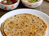 Vegetable Paratha Recipe-Mixed Veg Paratha-Vegetable Stuffed Paratha