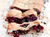 Fast Cherry Phyllo Chocolate Pie
