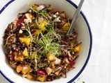 Wild Rice and Mango Salad